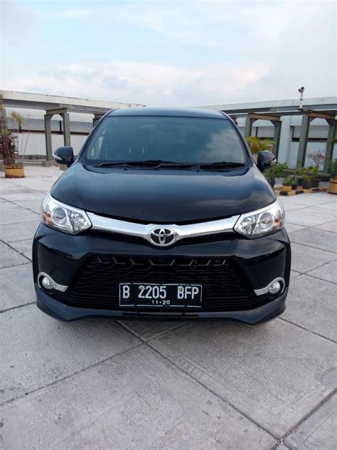 Mobil Bekas Avanza by Toyota All New Avanza 1 5 Veloz 2015 Hitam Mobilbekas