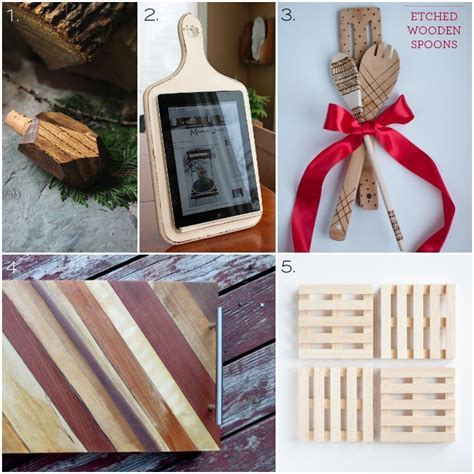woodworking gifts for 30 wooden handmade gift ideas one woof