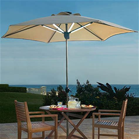 solar powered umbrella lights solar powered patio umbrella shade by day and light at