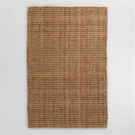 jute rugs basket weave jute rug world market