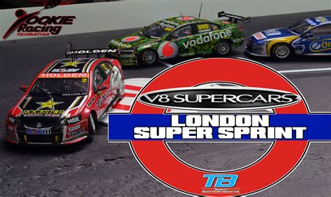 2014 V8 Supercars London Super Sprint   STOP MOTION RACING
