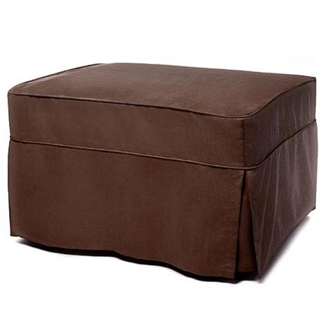 convertible ottoman bed with single mattress and slip