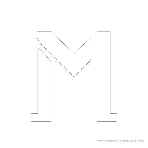 printable 3 inch letter stencils a z free printable stencils