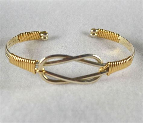 bracelet wire for bracelet tutorial wire wrapped cuff pdf quot knotted cuff