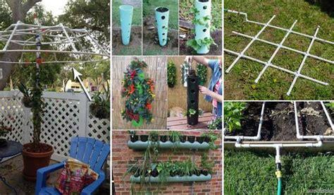 pvc garden ideas top 23 surprising diy ideas to decorate your garden fence