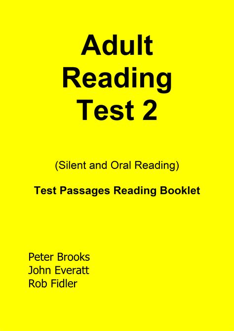 assessment for reading third edition reading test second edition 2 pearson