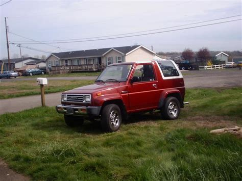 1990 Daihatsu Rocky by Mystang420 1990 Daihatsu Rocky Specs Photos Modification