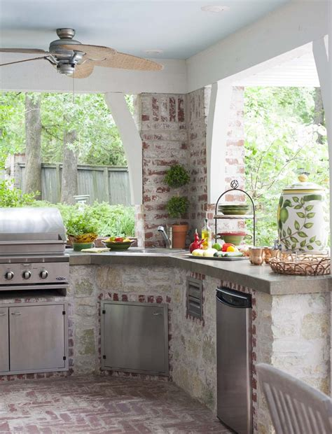 outdoor kitchen ideas for small spaces 32 outdoor kitchen designs that you gonna interior god