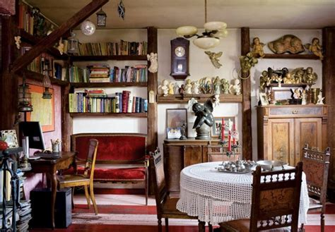 vintage home interiors colorful tale house with vintage furniture digsdigs