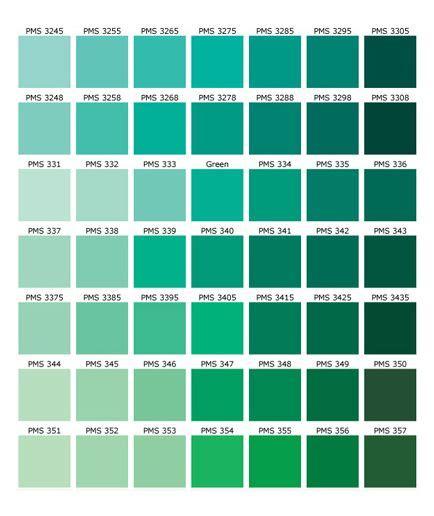 paint colors green shades green color names palette hue pantone shades of