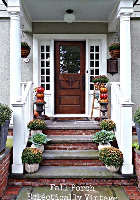 pictures of decorated front porches autumn decorating ideas you will enjoy