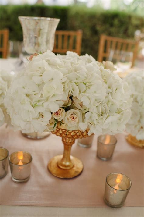 gold table centerpieces 17 best images about and white flowers on
