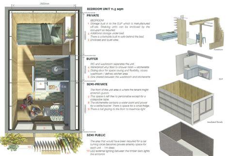 1 Bedroom Modular Homes Floor Plans levitt bernstein s pop up hawse proposal transforms london