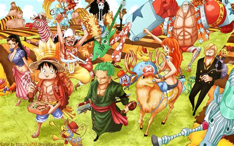one pice one wallpaper after 2 year straw hat crew