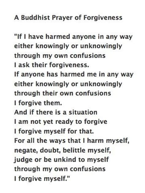 buddha prayer buddhism forgiveness quotes quotesgram