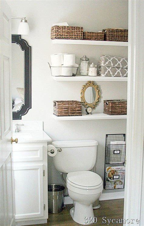 25 best ideas about bathroom 50 bathroom shelf ideas best 25 decorating bathroom