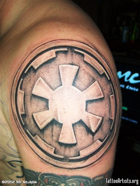 galactic empire tattoo tattoo pinterest