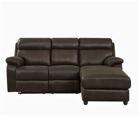 small leather sectional sofa with reclining back chaise s3net sectional sofas sale