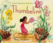 thumbelina picture book book review thumbelina by hans christian and
