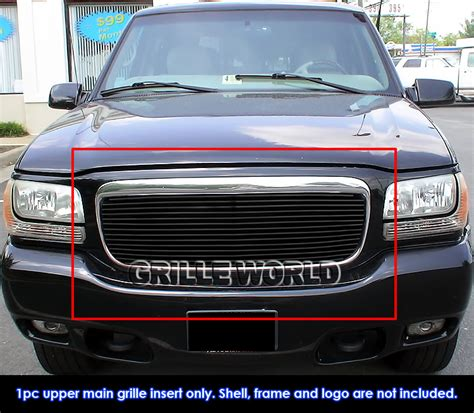 2001 Cadillac Grill by For 1999 2001 Cadillac Escalade Black Billet Premium