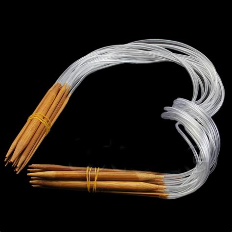 best circular knitting needles best 18 pairs circular nature bamboo carbonized knitting