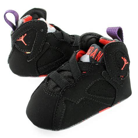 baby crib shoes jordans nike nike air 7 retro cb crib 305076 018