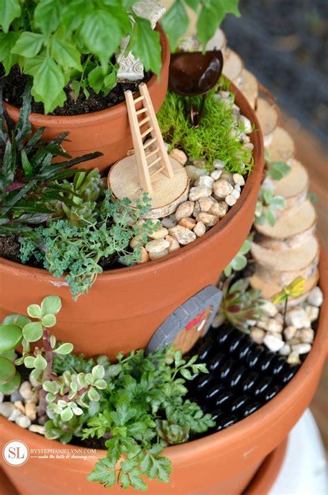 garden flower pots flower pot garden bigdiyideas