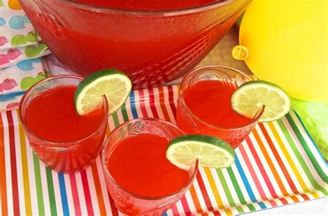 non alcoholic punch recipes for margarita punch recipe non alcoholic