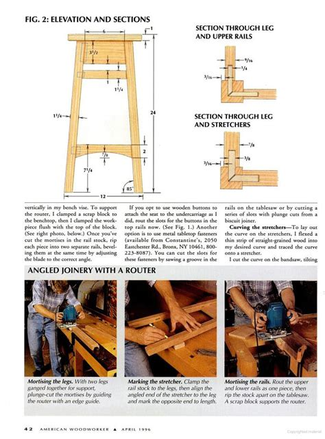 bar stool woodworking plans bar stools plans pdf woodworking