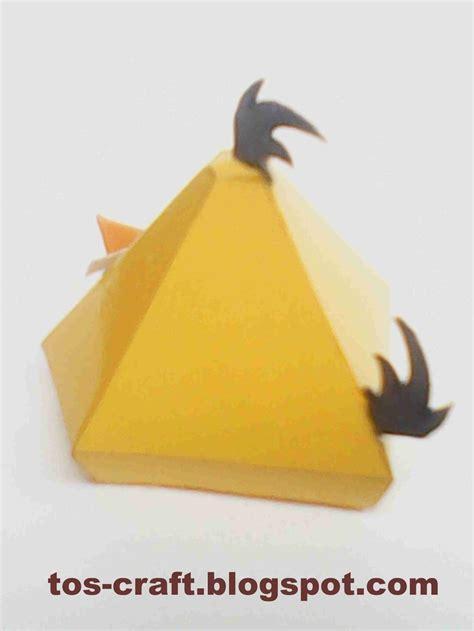 bird paper craft angry birds papercraft chuck angry birds papercraft