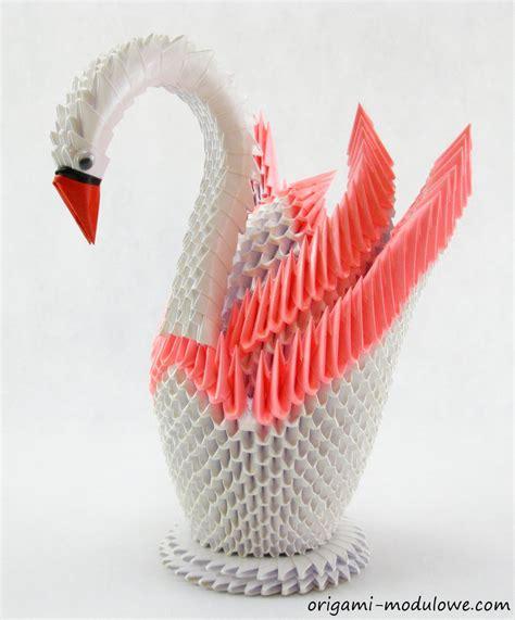 origami swan for modular origami swan 4 by origamimodulowe on deviantart