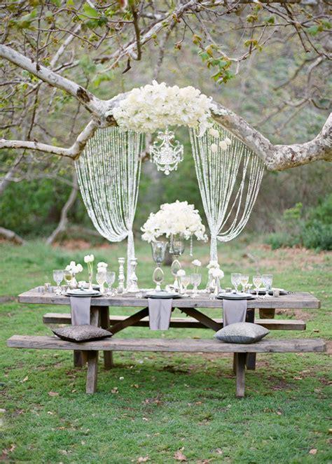 glamorous trees glamorous wedding style the trees the sweetest