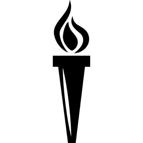 torche avec le feu t 233 l 233 charger icons gratuitement