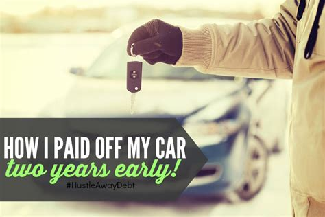 can i make a car payment with my credit card how i paid my car two years early single income