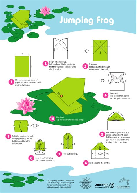 how to make an easy origami frog how to fold an origami jumping frog origami paper