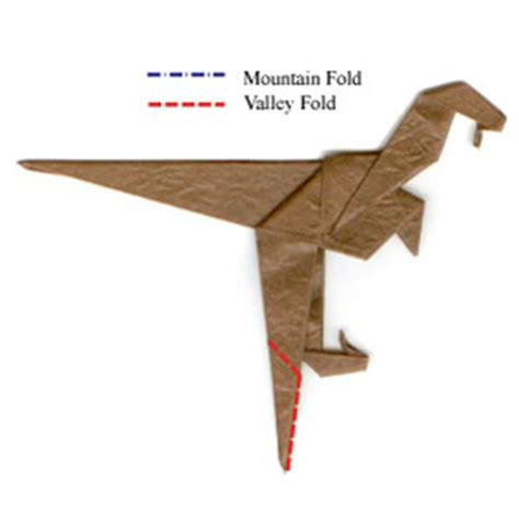 how to make an origami velociraptor how to make a simple origami velociraptor page 9