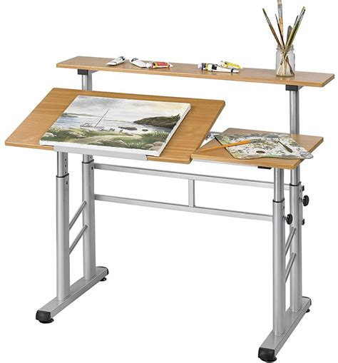 ergonomic drafting table split level drafting table in drafting tables