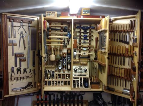woodworking tool cabinet 1000 images about workshop tool storage on