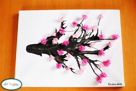 glaze paper craft craft cherry blossom branch meet the dubiens artistic