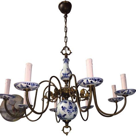 delft chandelier delft chandelier site richardroths nickle and ceramic
