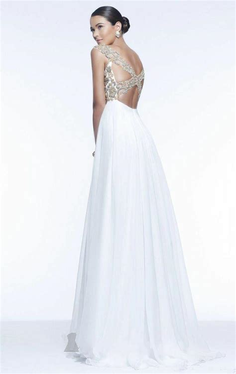 beaded evening gown cap sleeve white beaded evening gown