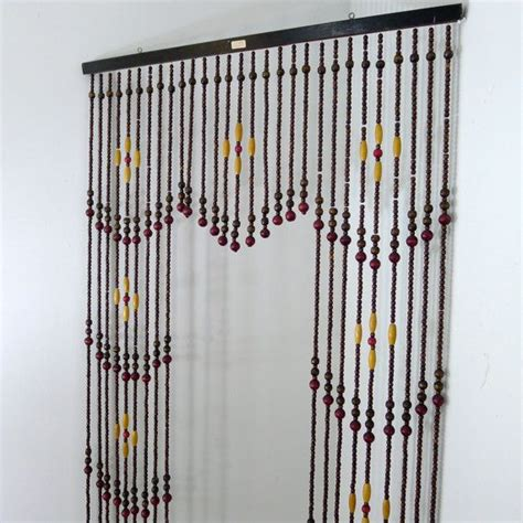 beaded curtains for vintage wooden bead curtain beaded curtain room divider