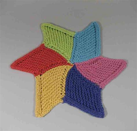 knitted starfish pattern september 2011 lake yarns