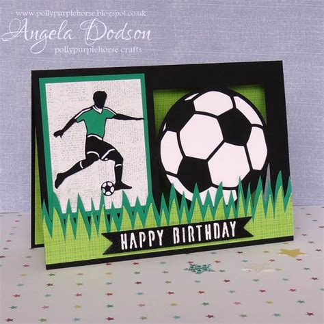 football birthday cards to make make a football themed birthday card