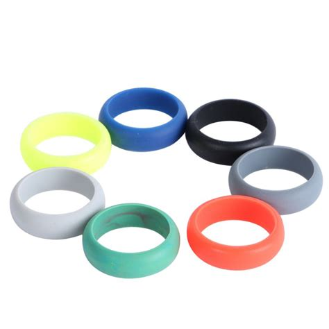 wedding rubber sts uk ring wedding rubber silicone engagement band active sport