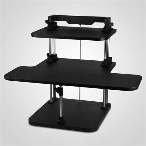 adjustable standing computer desk adjustable computer desk for standing image mag