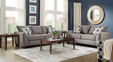 grey living room furniture set bonita springs gray 5 pc living room living room sets gray