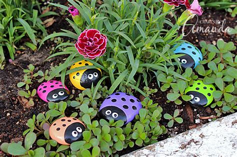 painting rocks for garden ladybug painted rocks ladybug rocks for the garden