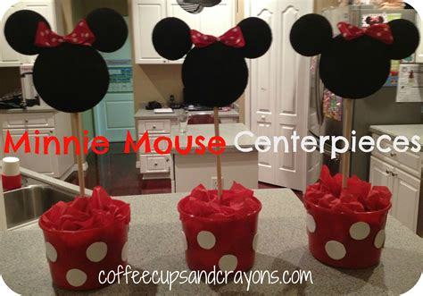 how to make centerpieces how to make easy minnie mouse centerpieces
