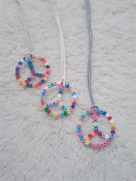 peace crafts for perler craft projects with